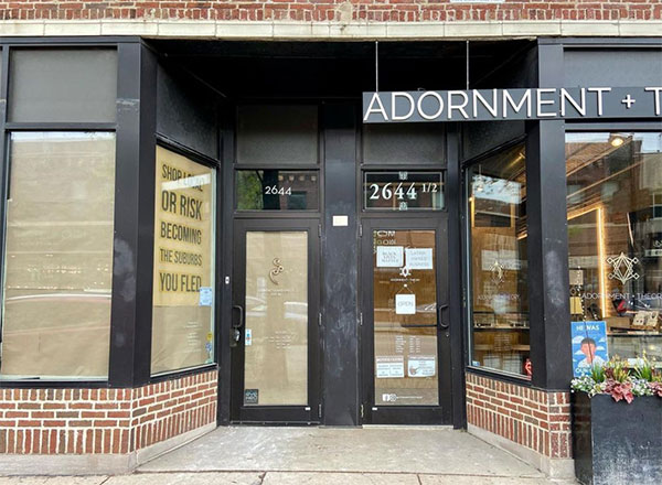 Adornment and Theory exterior
