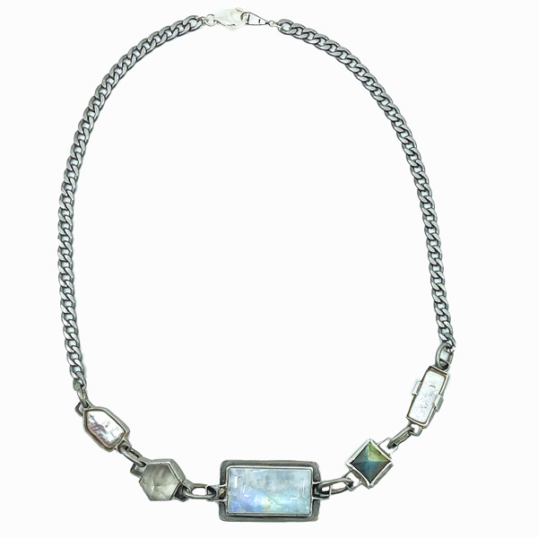 Amulet by D Lightbox moonstone necklace