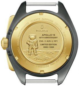 Bulova Lunar Pilot Apollo 15 50th Anniversary Limited Edition Watch