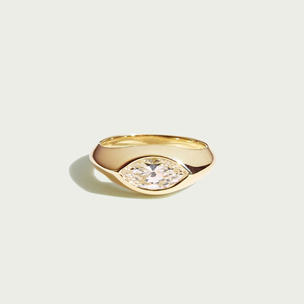 Ceremony Sienna diamond marquise ring