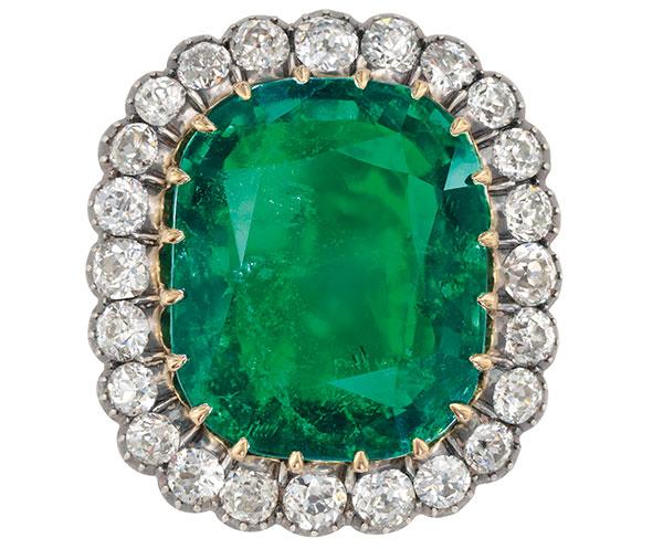 Christies Emerald pendantLot98