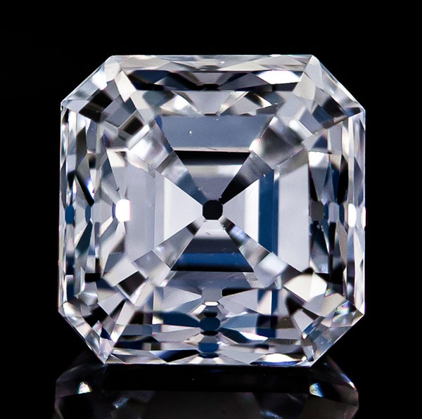 D'Amadeo Asscher cut diamond