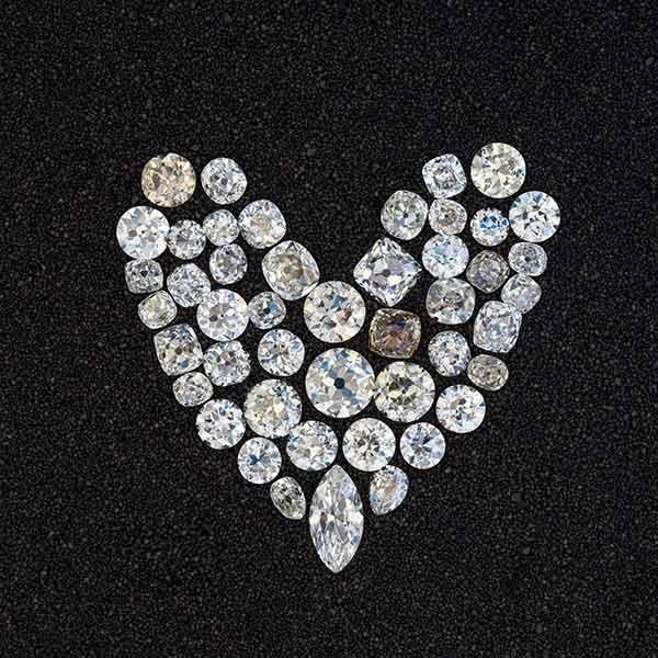 D'Amadeo loose diamonds