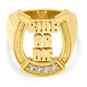 Established ride or die ring