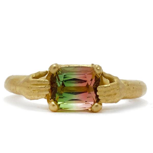 Fraser Hamilton Rainbow hand ring
