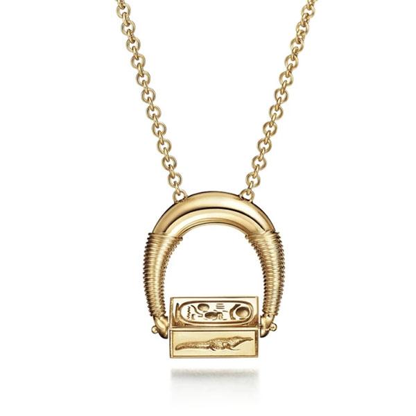 Futura Odyssey necklace-closeup