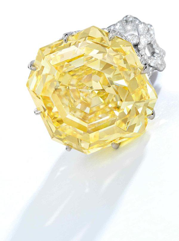 Glenn Spiro yellow diamond