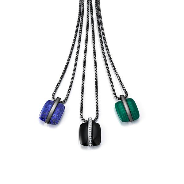 Graziela Mens flip necklaces