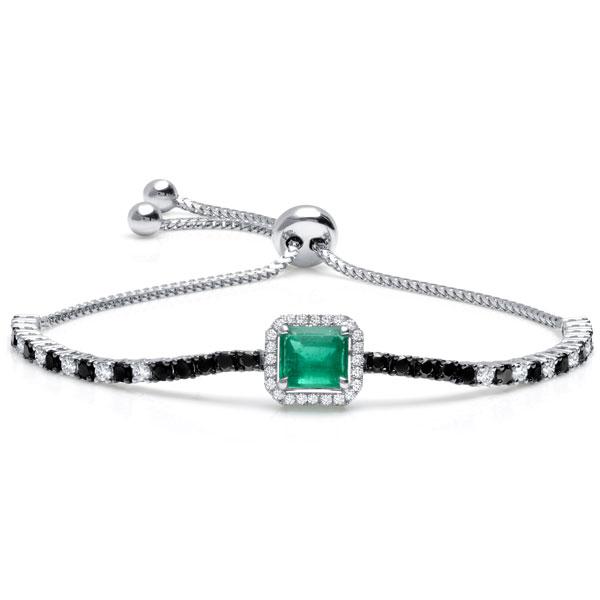 Graziela emerald bracelet