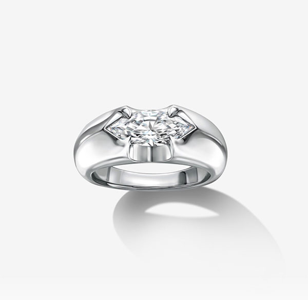 Liv Luttrell Marquise Spear Tip ring
