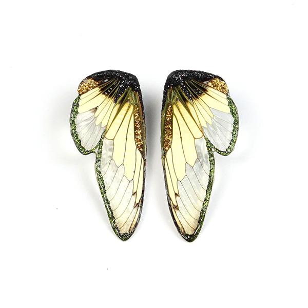 Marta Mattson cicada dandelion earrings