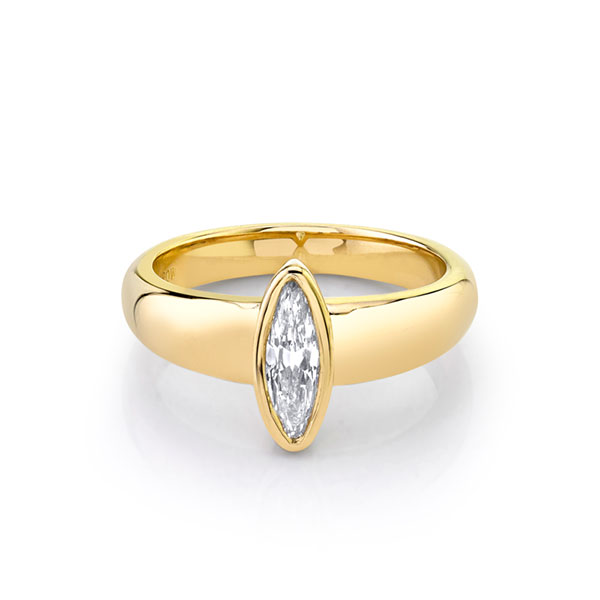 Marrow Fine Jewelry moval ring