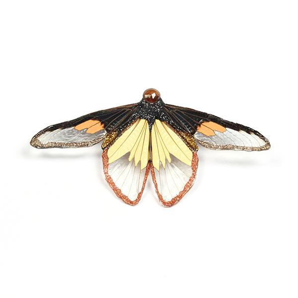 Marta Mattson Night and Day cicada brooch