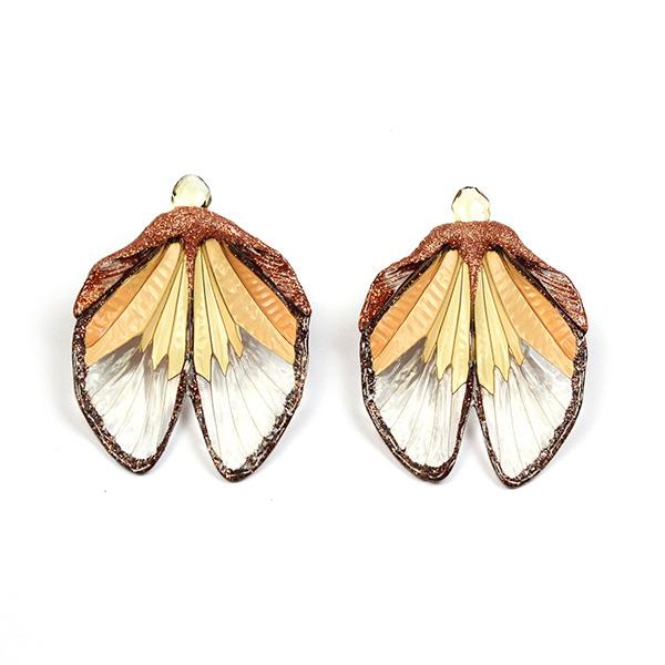 Marta Mattsson cicada earrings