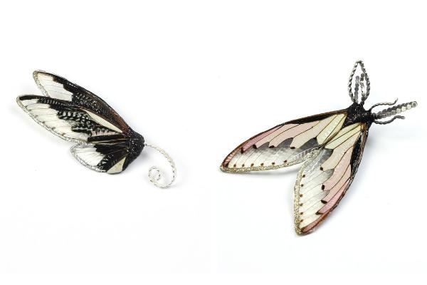 Marta Mattsson cicada brooches