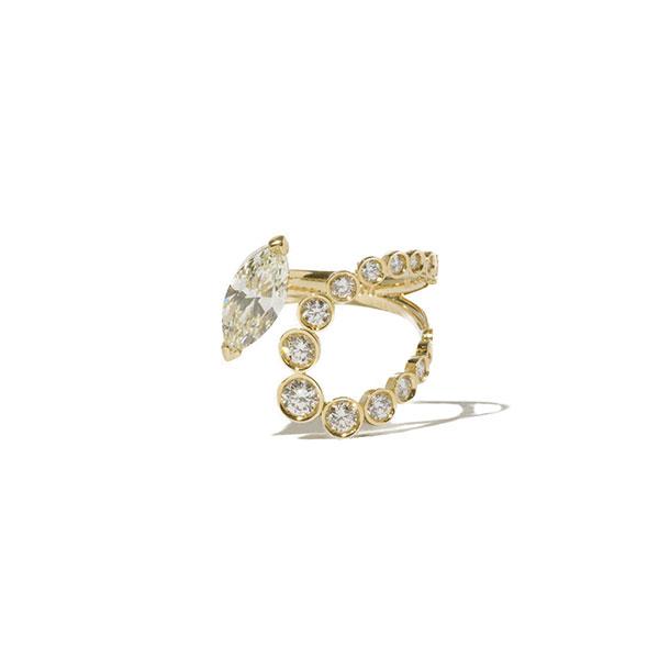 Milamore marquise diamond ring