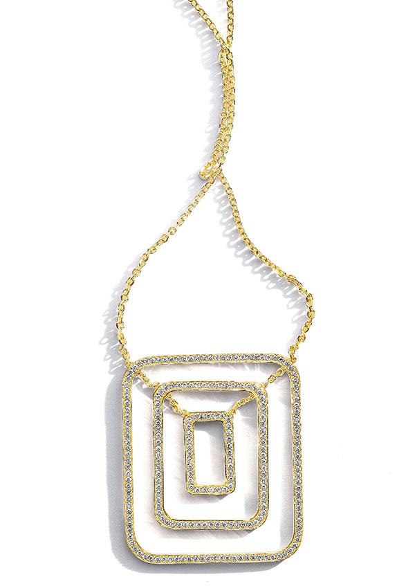 Mimi So Piece Necklace