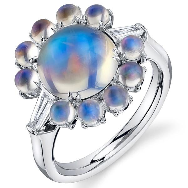 Nicole Mera moonstone ring