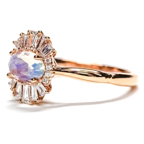 Nika Cito moonstone ring