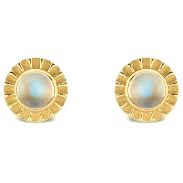 Pamela Zamore moonstone earrings