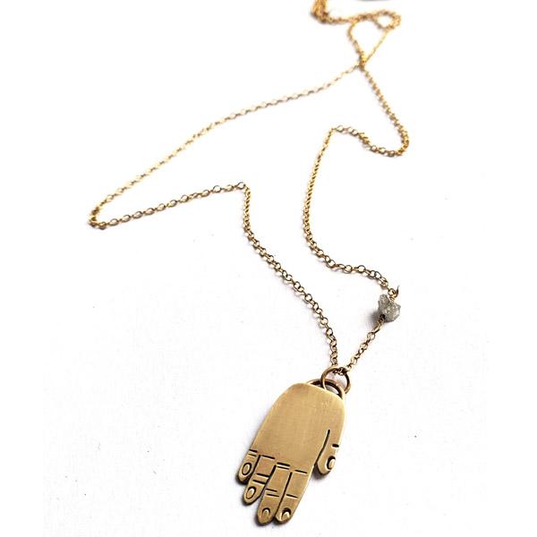 Samantha Slater handle necklace