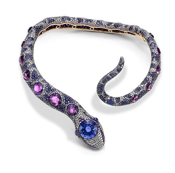 Serpent brooch