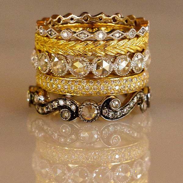 Sethi Couture ring stack