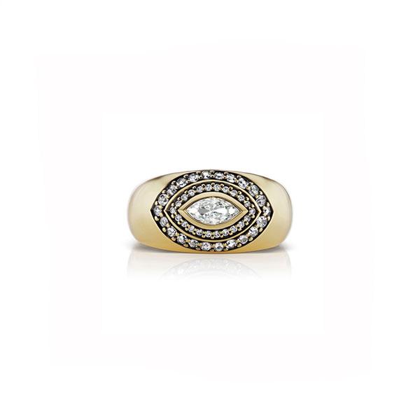 Sorellina Axl Marquise Ring