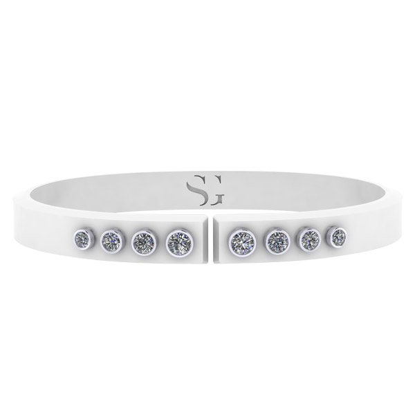 Stephanie Gottlieb Torque cuff bracelet
