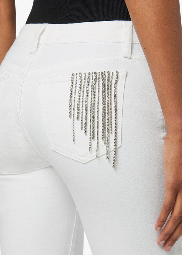 Stephanie Gottlieb x Joes white jeans