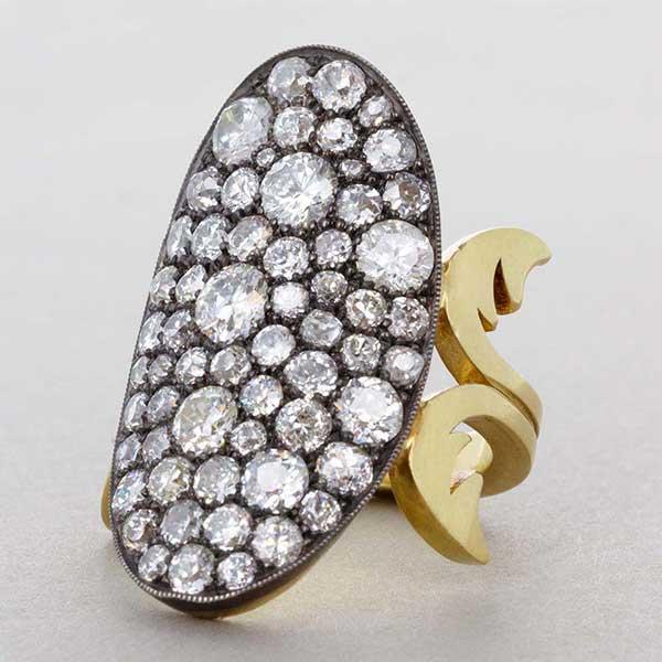 Sylva & Cie diamond ring