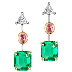 Thelma West Eden drop earrings