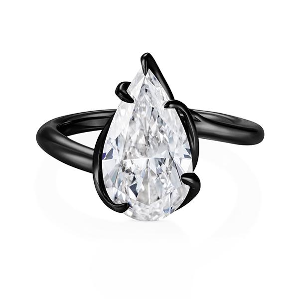 Thelma West Rebel black ring
