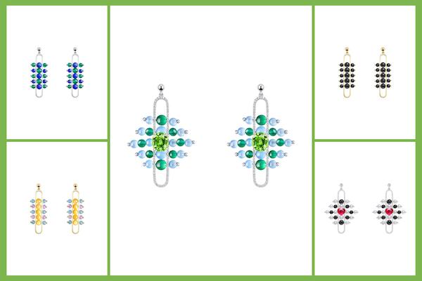 Zeemou Zeng Impressionists earrings