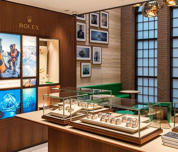 Long's Rolex boutique