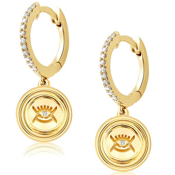 Almasika eye earrings