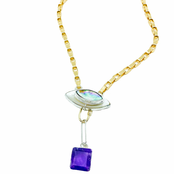 Amulet by D Grape Jelly necklace
