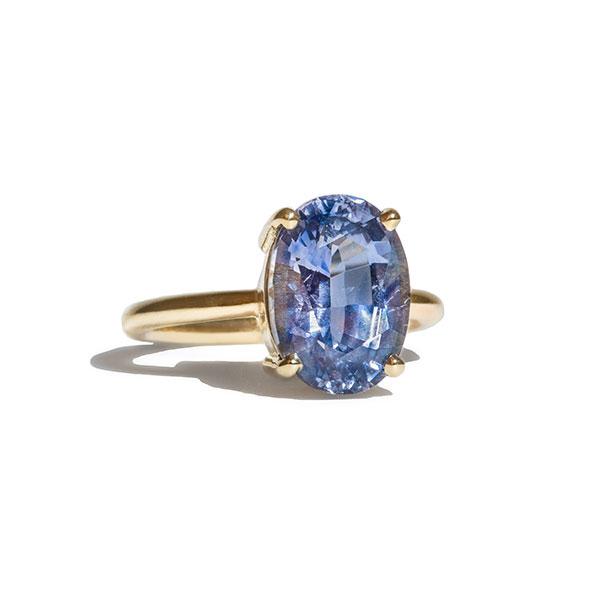 Bario-Neal Kalmia Sky Blue Sapphire ring