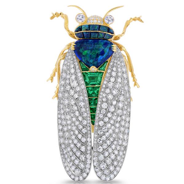 Cicada Jewelry brooch