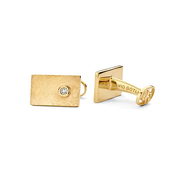 David Gotlib gold rush cufflinks