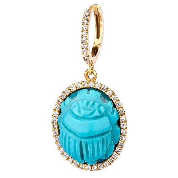 Dima Jewellery scarab pendant