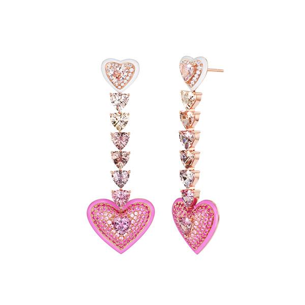 Emily P Wheeler Love earrings