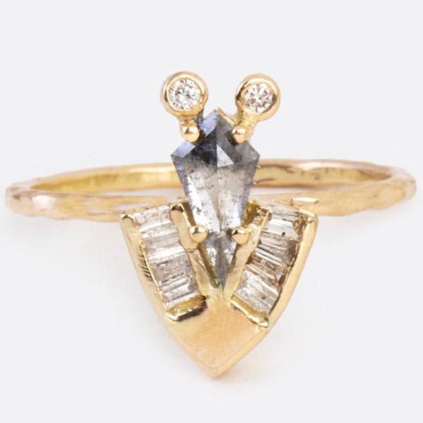 Eva Noga Cicada ring