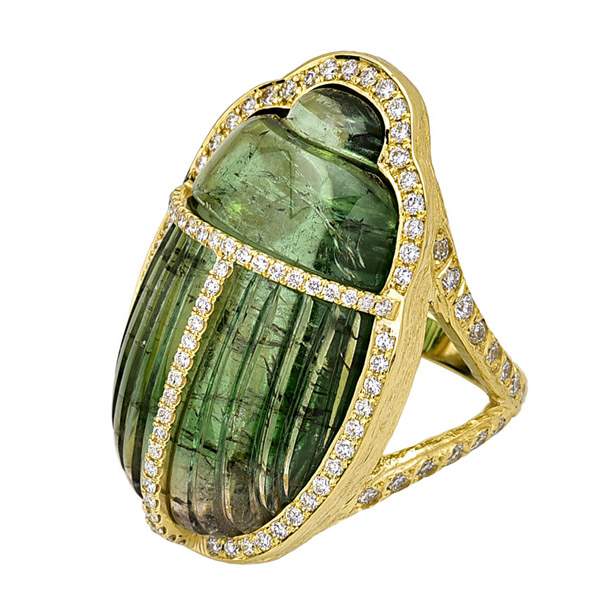 Feral Jewelry scarab ring