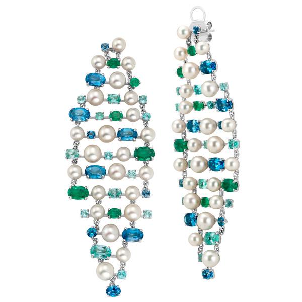 Graziela Perola Lustre earrings
