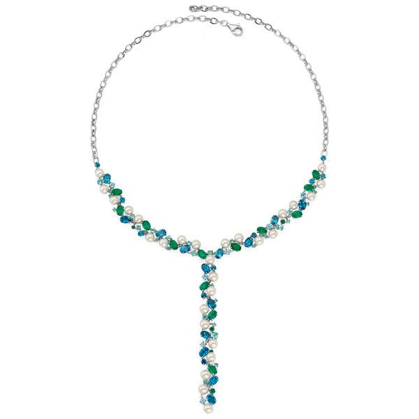 Graziela Perola lavalier necklace