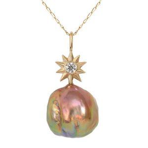 Jenny Norman Stargazer pearl pendant