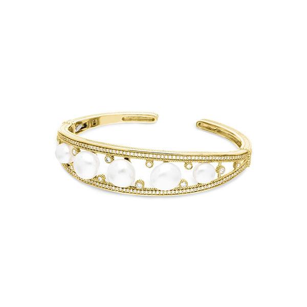 Judith Ripka pearl bracelet