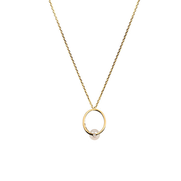 Katkim Grande Pearl Oasis necklace