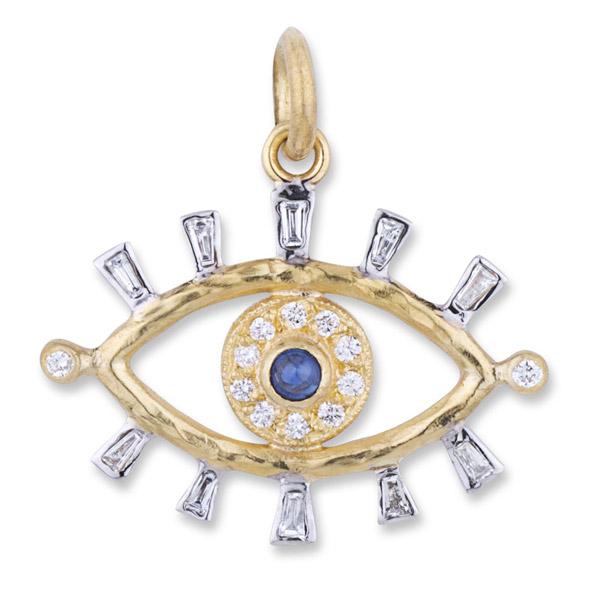 Lika Behar evil eye pendant